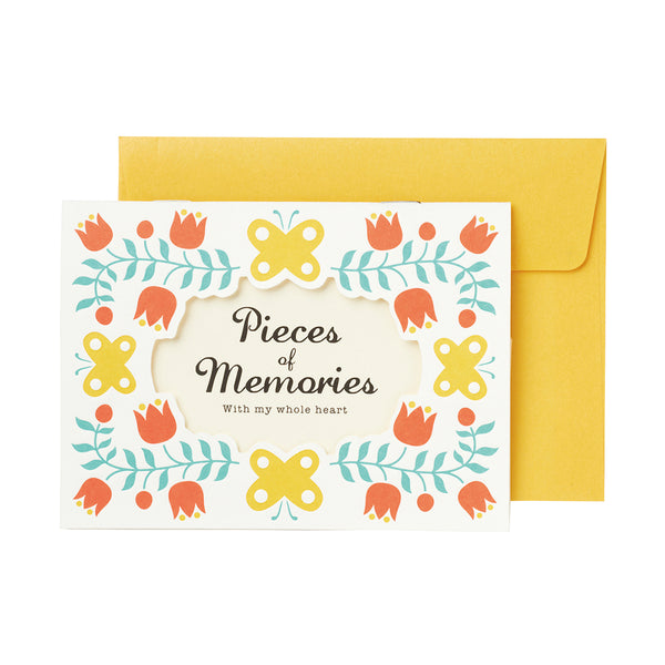 Floral Photo Mail - Yellow