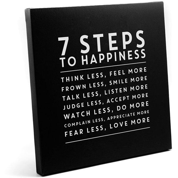 Canvas - 7 Steps To Happiness