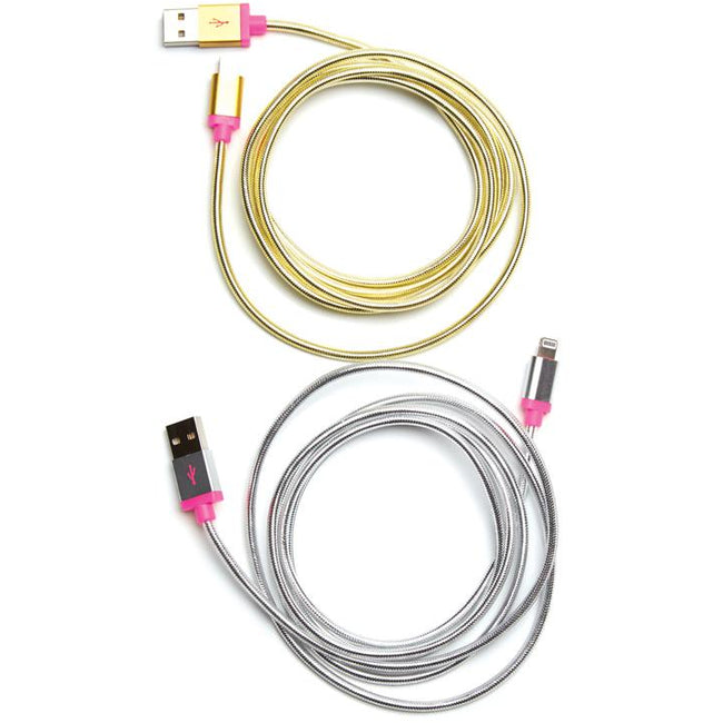 Back Me Up! Charging Cord, Gold