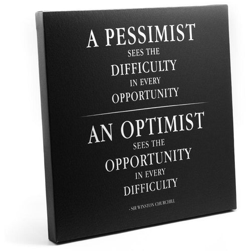 Canvas - A Pessimist Sees The Difficult In Every Opportunity