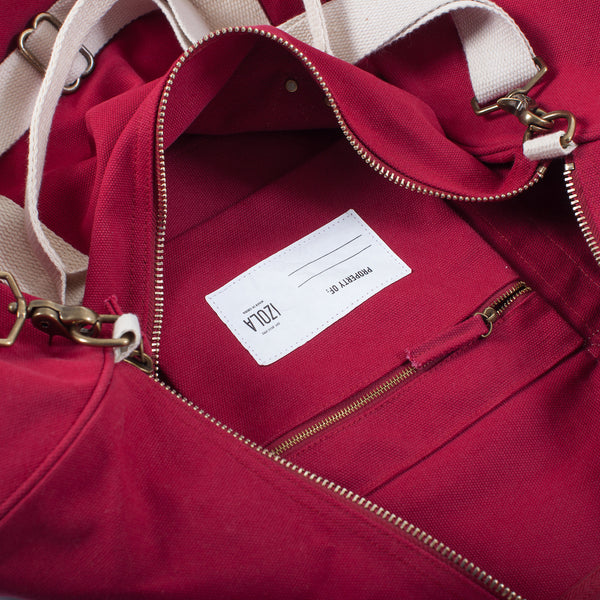 Duffle Bag - Belgium (Red)