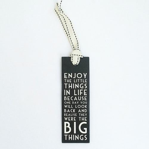 Bookmarks- Enjoy The Little Things