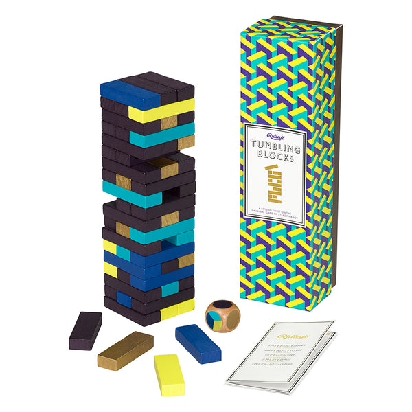 Games Room - Tumbling Blocks