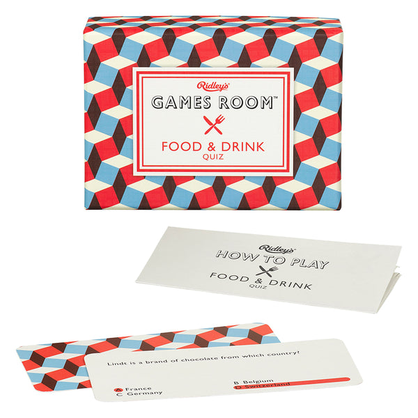 Games Room - Food & Drinks Quiz