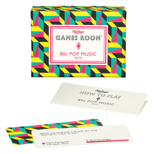 Games Room - 80s Pop Music Quiz