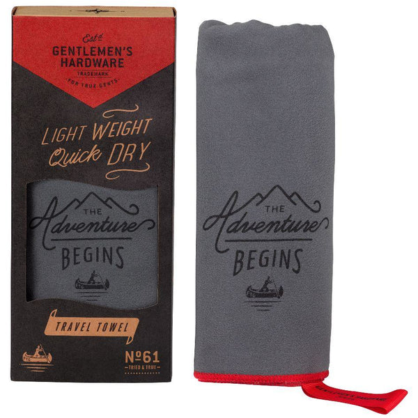 Gentlemen Hardware's - Travel Towel