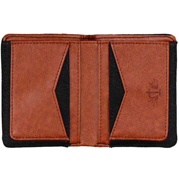 Gentlemen's Hardware - Charcoal Canvas Wallet