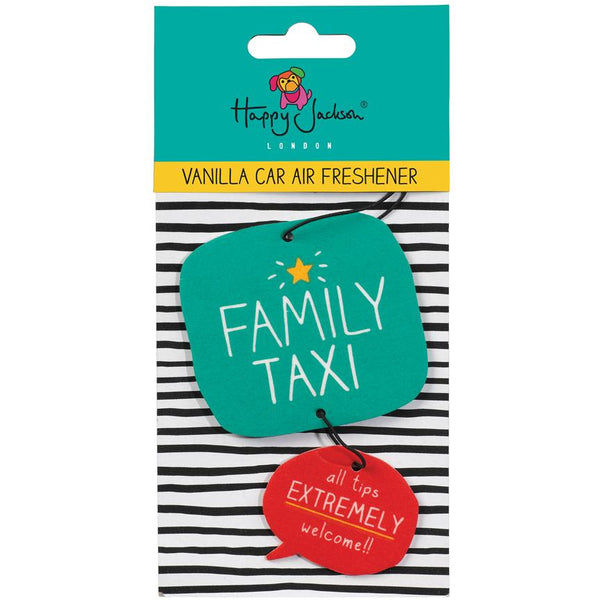 Car Air Freshener Family Taxi (Vanilla)