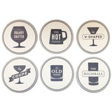 Happy Hour Coaster Set