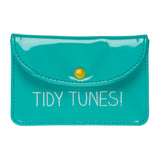Earphone Case Tidy Tunes Green