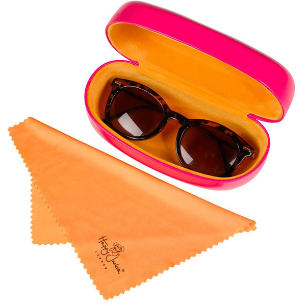 Sunglass Case - Hello Beautiful World