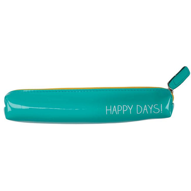 Slim Pencil Case - Happy Days