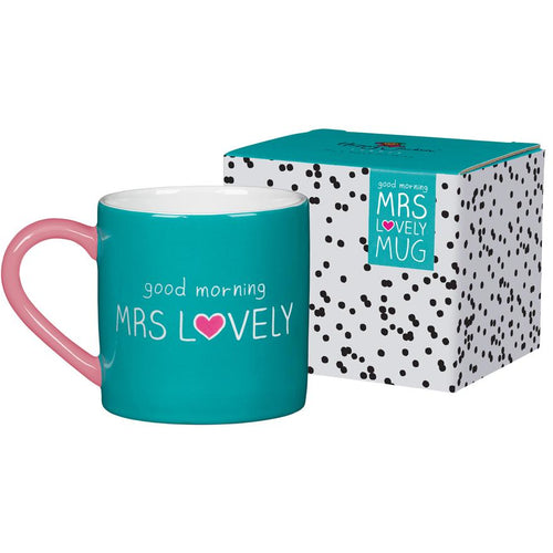 Mrs Lovely Boxed Mug