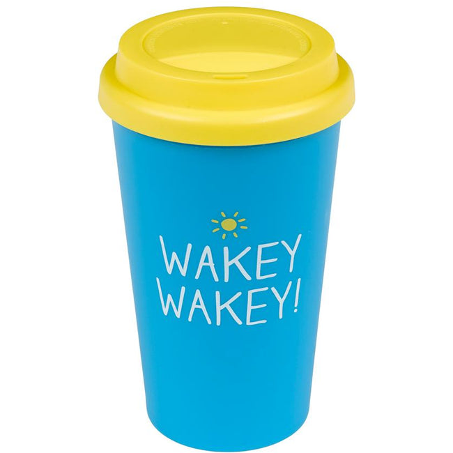Travel Mug Wakey Wakey