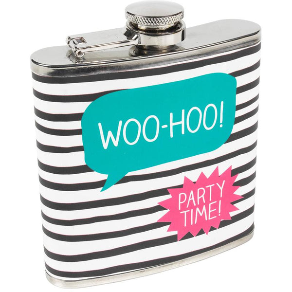 Woo Hoo Hip Flask