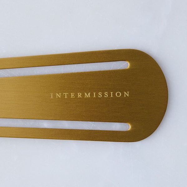 Izola - Intermission Brass Bookmark