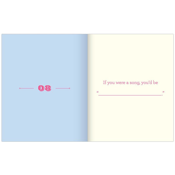 Card Booklet - About You