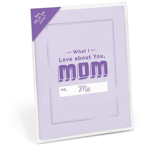 Card Booklet - About Mom