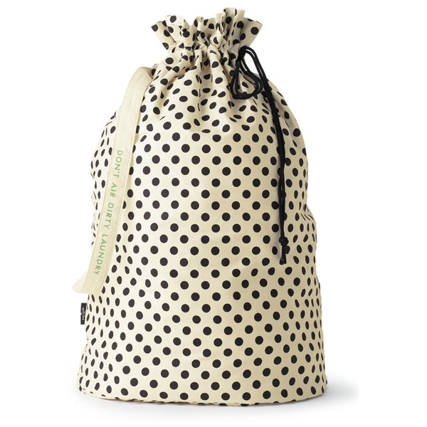 Kate Spade New York Laundry Bag, Black Dots