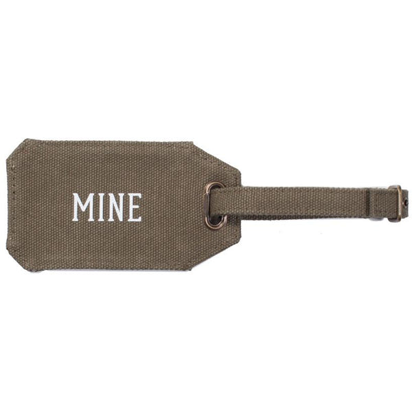 Mine Luggage Tag