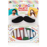Moustache Party Blowers