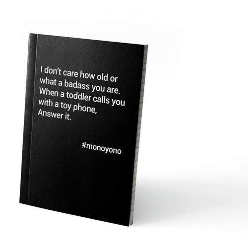 Monoyono Little Black Notebook - Answer It