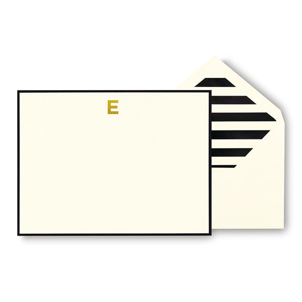 kate spade new york - Monogram Correspondence Cards 'E'