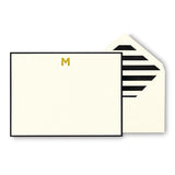 kate spade new york - Monogram Correspondence Cards 'M'