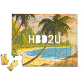 HBD2U (Happy Birthday to You) Message Puzzle