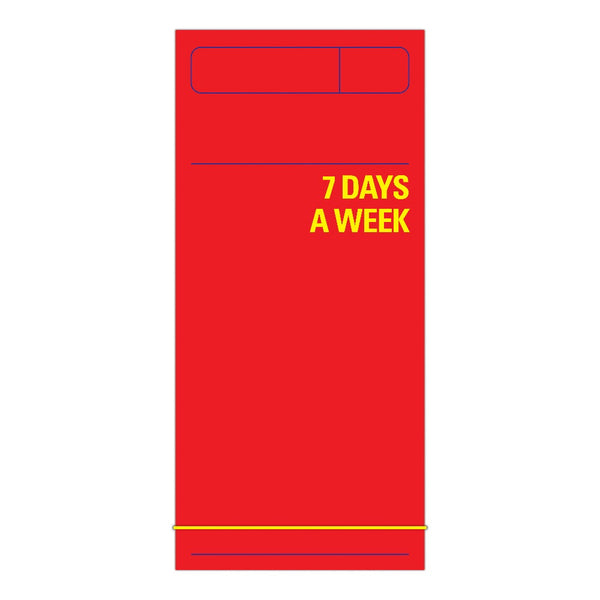 7 Days a Week Planner (Red)