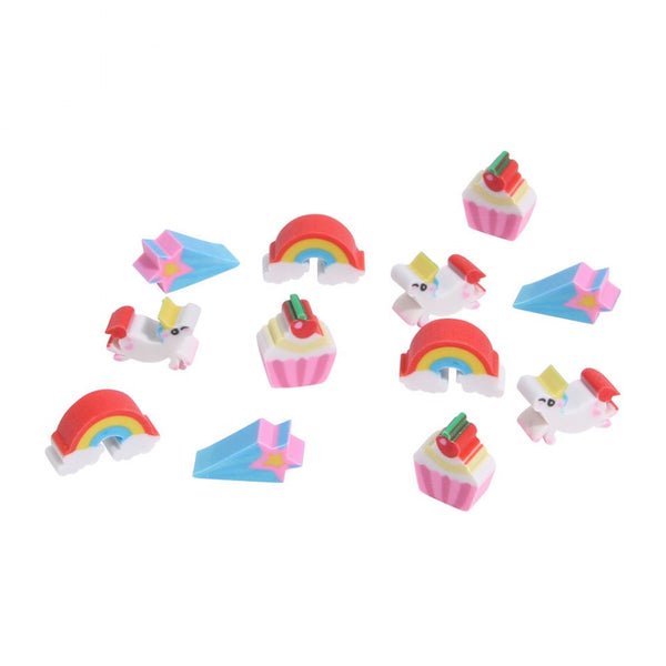 Unicorn Mini Eraser Pot