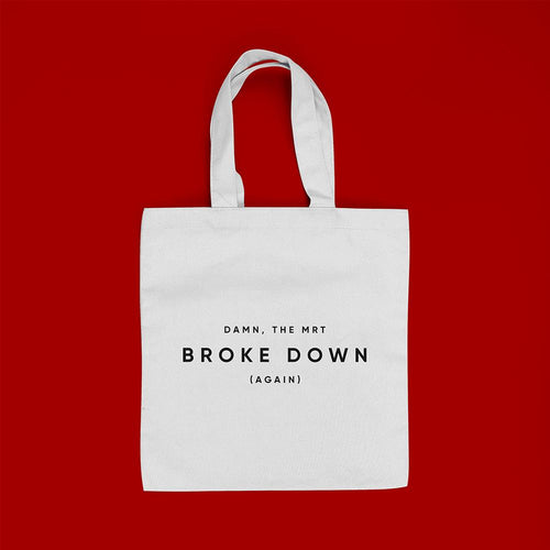 Monoyono Tote Bag - Broke down (again)