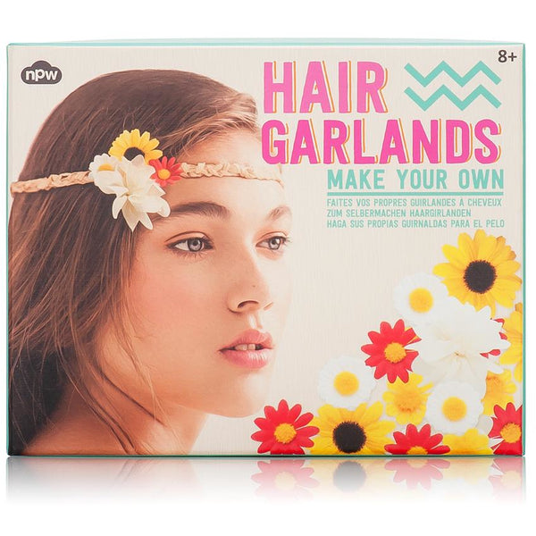 Make Your Own Hair Garlands