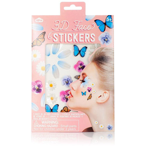 3D Face Stickers