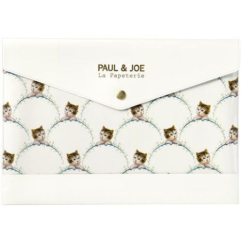 Paul & Joe A5 Stationery Case - Neko