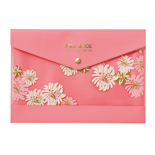 Paul & Joe A5 Stationery Case - Blossom Pink
