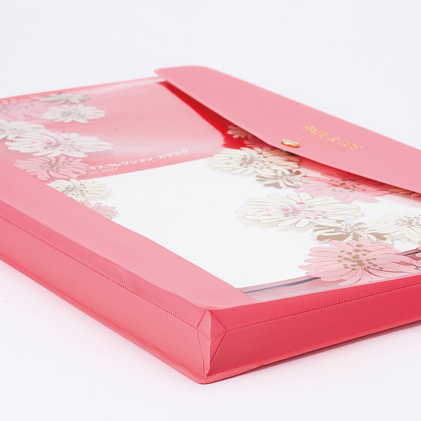 Paul & Joe A4 Stationery Case - Blossom Pink