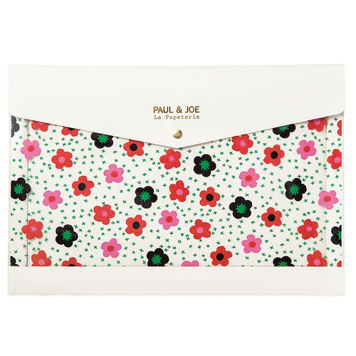 Paul & Joe A4 Stationery Case - Daisy in the Field
