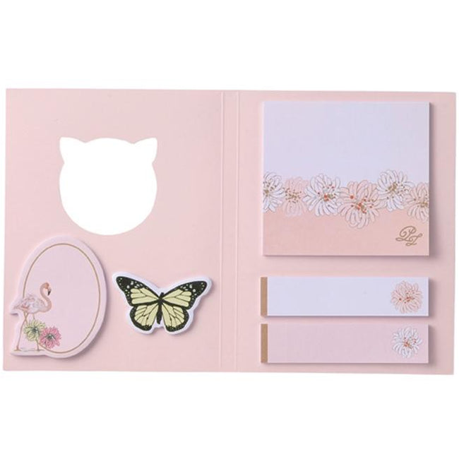 PAUL & JOE Sticky Note Set - Chrysanthemum