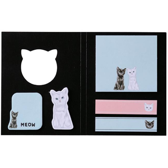PAUL & JOE Sticky Note Set - Chess Cat
