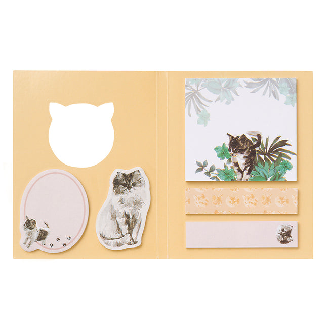 Paul & Joe Sticky Note Set - Cat Cat Cat