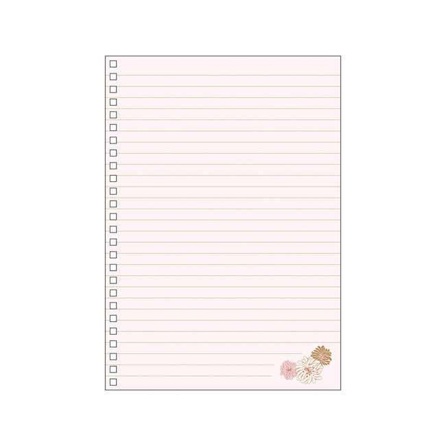 Paul & Joe A5 Notebook - Blossom Pink