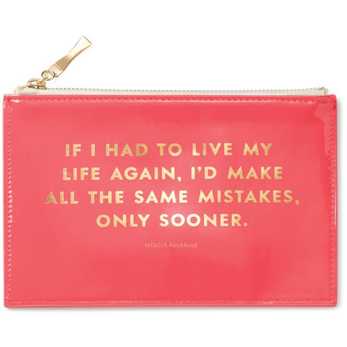 Kate Spade New York Pencil Pouch - Same Mistakes