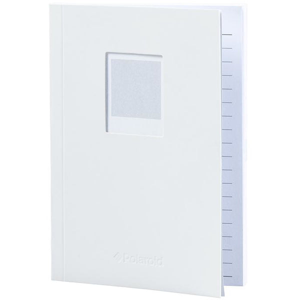 Polaroid Soft Touch Small Notebook White