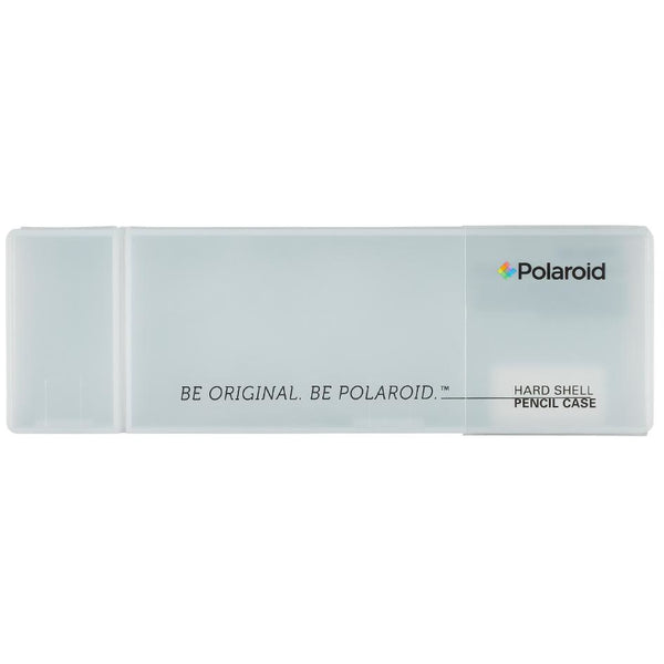 Polaroid Hardshell Pencil Case - White