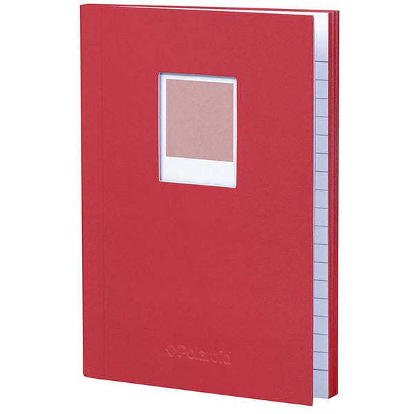 Polaroid Soft Touch Small Notebook Red
