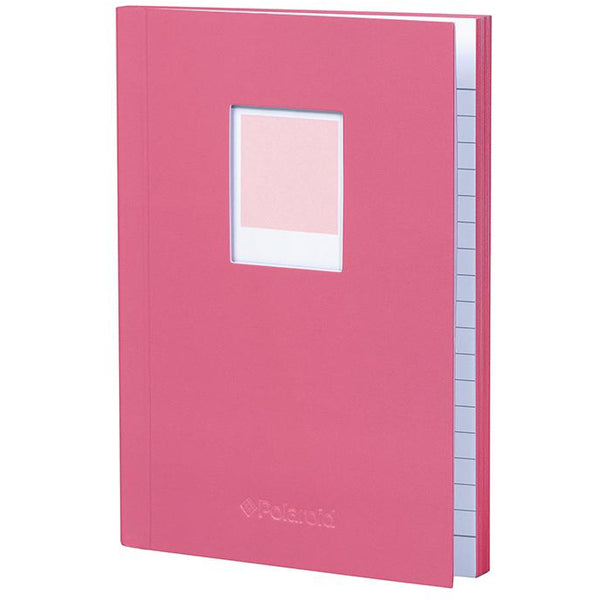 Polaroid Soft Touch Small Notebook Pink