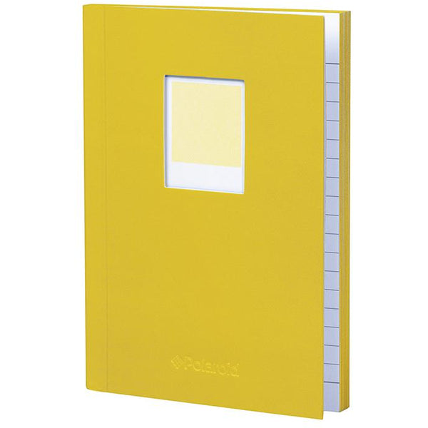 Polaroid Soft Touch Small Notebook Yellow
