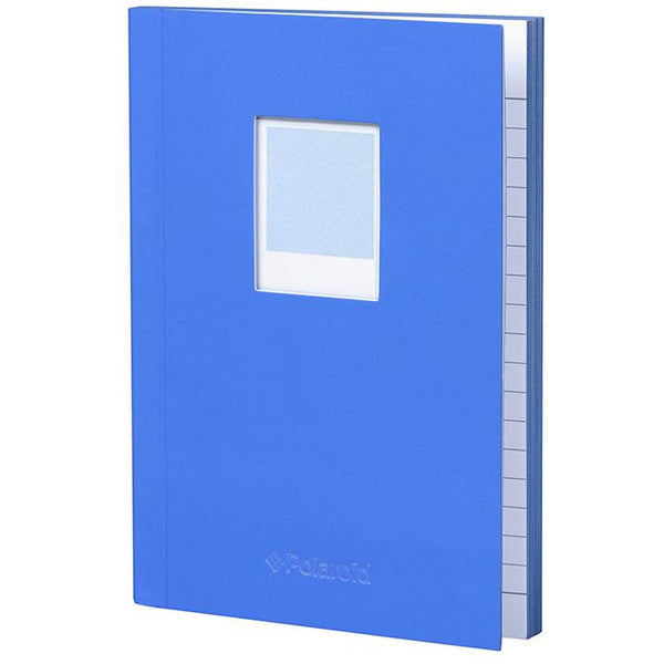 Polaroid Soft Touch Small Notebook Blue