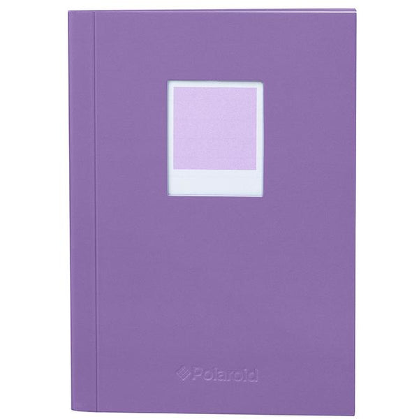 Polaroid Soft Touch Small Notebook Purple